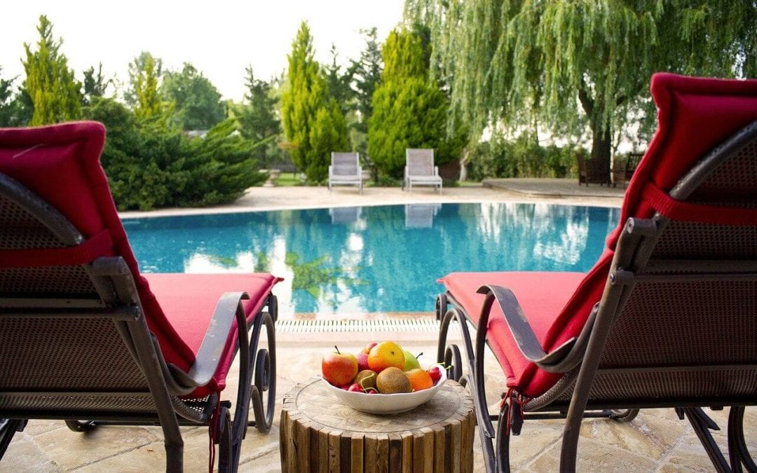 upgrade your pool with comfortable patio furniture